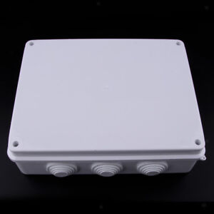 Details About 255 X 200 Mm Waterproof Cable Wire Junction Box Adaptable Outdoor Enclosure