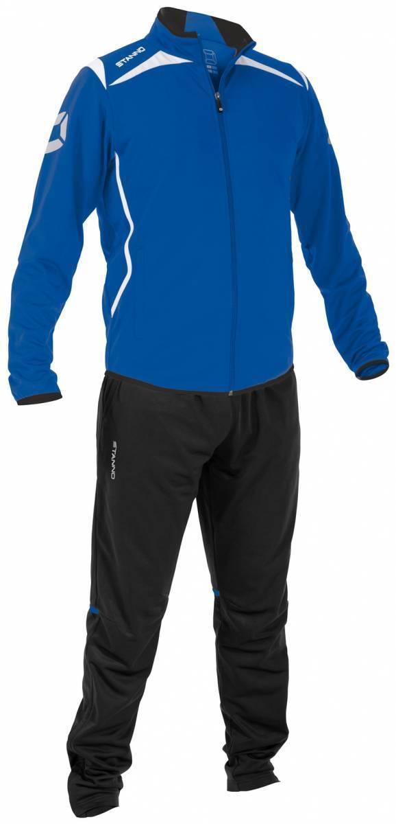 Stanno Anzug Trainingsanzug blau weiß NEU 43567