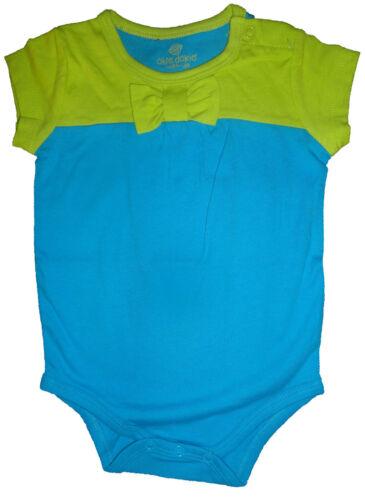 9M Infant Baby Girl Okie Dokie Match-Ups Aqua /& Lime Top Sizes 3M 6M