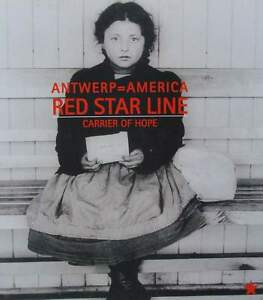 LIVRE-BOOK - RED STAR LINE carrier of hope (paquebot-poster-affiche) 3KO1oSpr-09092944-660754303