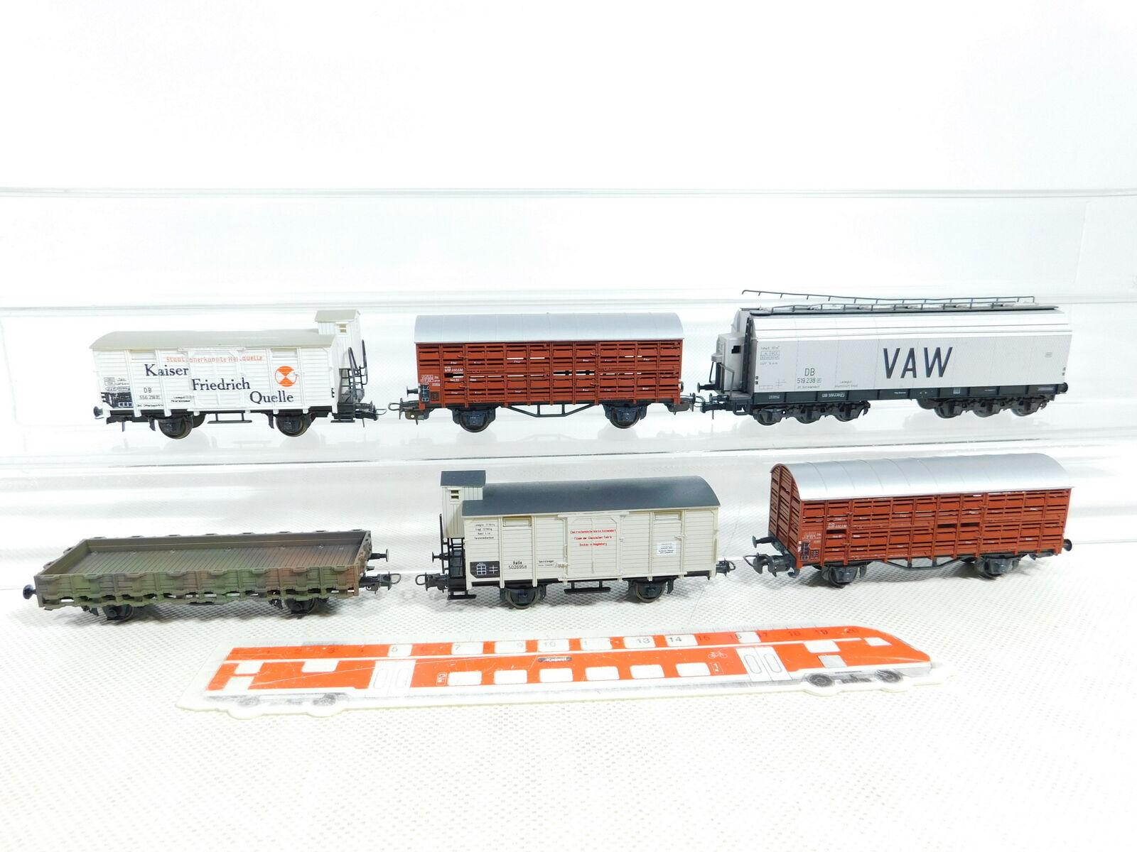 BX114-1 x Liliput H0   Dc Vagón de Mercancía Db   DRG   Kaiser Friedrich Etc.