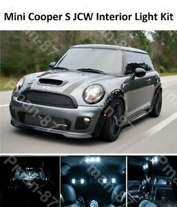Mini Cooper Interior >> Details About Premium Mini Cooper S Jcw R50 R53 Interior White Full Upgrade Led Light Kit