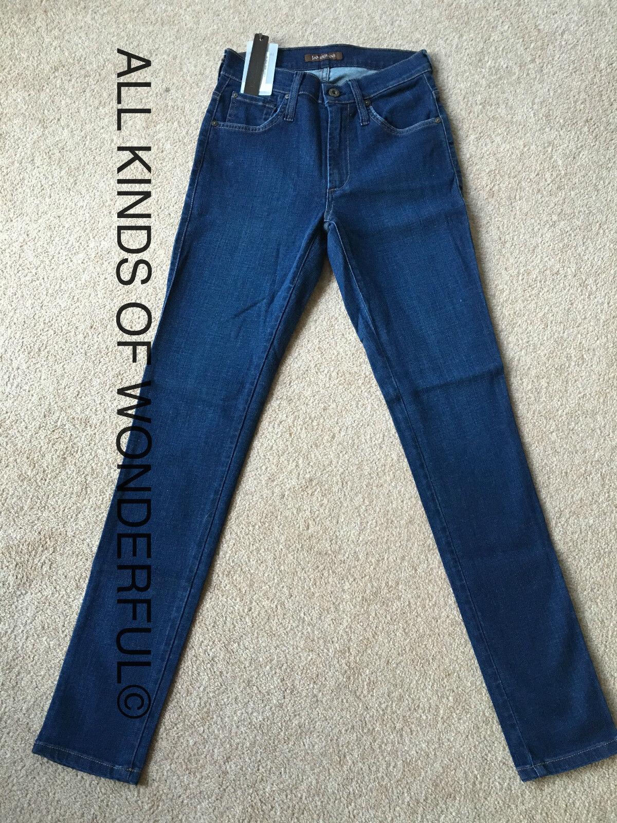 James Jeans Alta Classe SKINNY IN COSTIERA (mid blu) Tag Nuovo di zecca con RRP