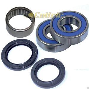 Caltric Rear Wheel Ball Bearings /& Seals Kit Compatible with Yamaha Fz1 Fzs1000 2007-2013