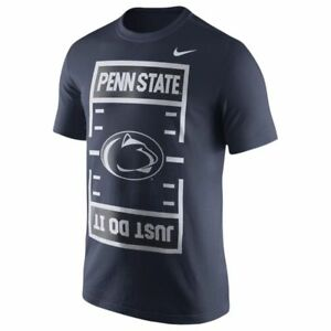 Penn-State-Nittany-Lions-Mens-Nike-JUST-DO-IT-Field-T-Shirt-Size-XXL-NWT