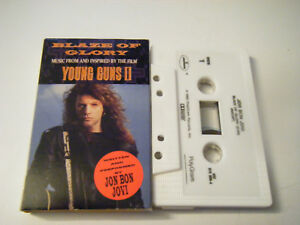 Blaze-of-Glory-Single-by-Jon-Bon-Jovi-Cassette-Aug-1990-Polydor