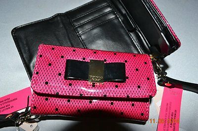 Adorable Victorias Secret Supermodel Essentials Wallet Clutch for iphone 4 NWT