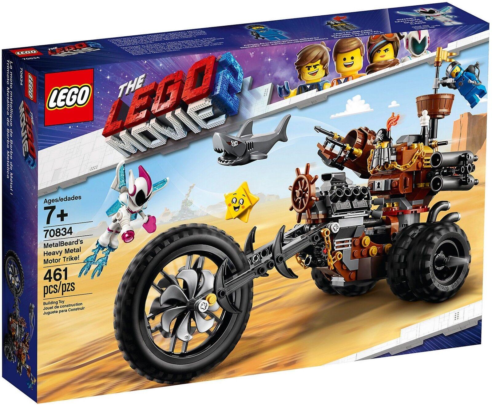 LEGO ® THE LEGO MOVIE 2™ 70834 EisenBarts Heavy-Metal-Trike  Benny Apokalypstadt