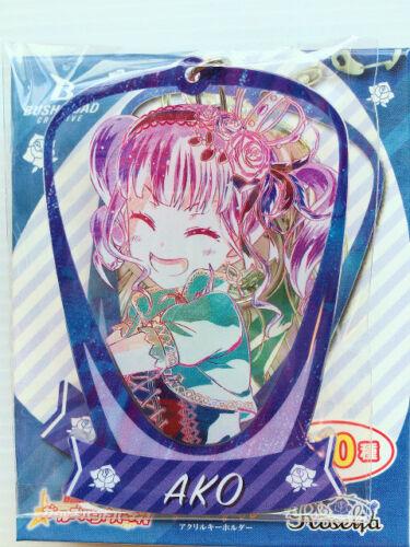 BanG Dream Girls Band Party Roselia Big Acrylic Key Ring Ani-Art Yukina Rinko..