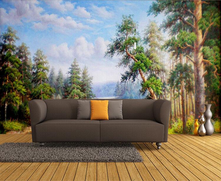 3D Ölgemälde Landschaft9 Tapete Tapeten Mauer Foto Familie Tapete Wandgemälde DE