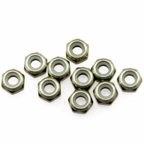 Hex Flange Nuts M2 M3 M4 M5 M6 Aluminum Alloy Anti-Loose Nut Multicolor Anodize