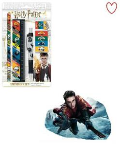 Official Harry Potter Stationary Set House Traits 5pcs Gift