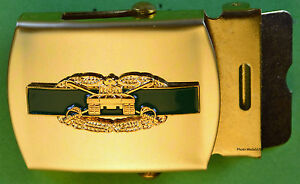 Combat-Armored-Cavalry-black-Web-Belt-amp-brass-buckle-Army