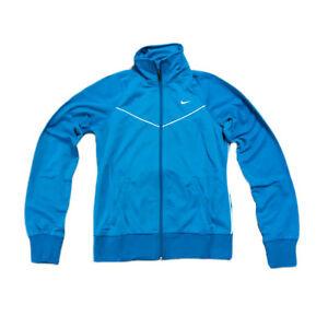 Details zu Nike Trainingsanzug Sportanzug Fitnessanzug S M L Jacke+Hose türkis blau NEU