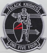 US Navy VF-154 Fighter Squadron 154 Black Knights Embroidered Patch Badge