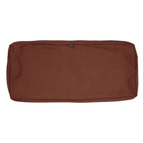 48x18x3 CLASSIC# 60-110-016601-RT ONE NEW SETTE//BENCH CUSHION SHELL HENNA