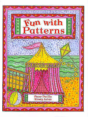 """""""AS NEW"""" Fun With Patterns, Patilla, Peter, Book"""