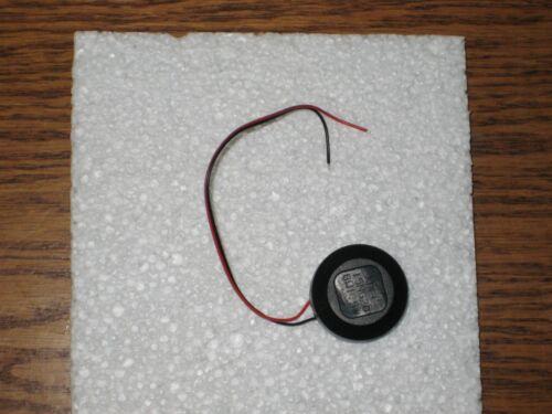 Details about  /HO 28MM ROUND SPEAKER 8 OHMS BAFFLE /& WIRES IHC #02005 28MM SPEAKER