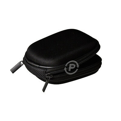 Sony Vaio Walkman Headphones Carrying Hard Case Zipper Bag for In-ear Earphones