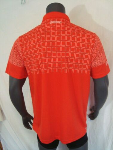 Lacoste SPORT Red Graphic Technical Men/'s Tennis Polo Shirt NWT Size 2XL