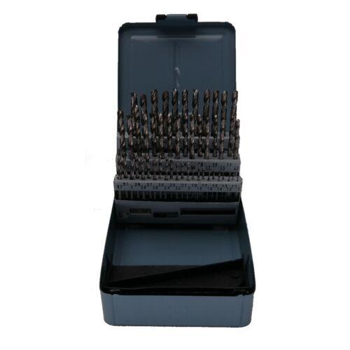 Feida Metallbohrer-Set 50-teillig HSS-G 1-5,9 mm DIN 338 Metallbox