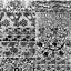 10 Sheet Black Lace Nail Art Foil Set Flower Floral Charm Nail Transfer Sticker