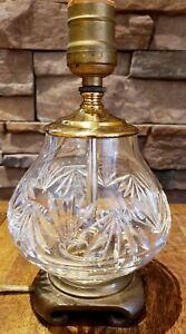 Waterford Crystal Leana? Fan -- Small Boudoir Table Lamp ...