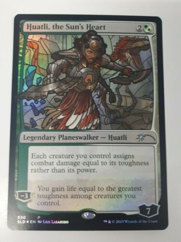 Magic // MTG STAINED GLASS PLANESWALKERS Secret Lair SINGLES