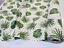 140cm wide Green Polka Dot Palm Leaf Cotton Fabric tropical leaves curtains