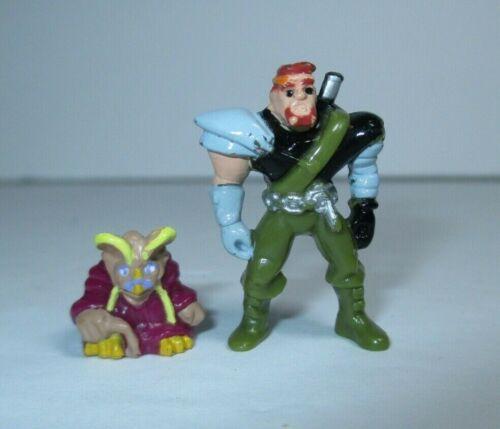 "1993 Mighty Max Dragon Island 1/"" Norm Man Amigo Com Virgil Mini Figura Bbt Mattel"