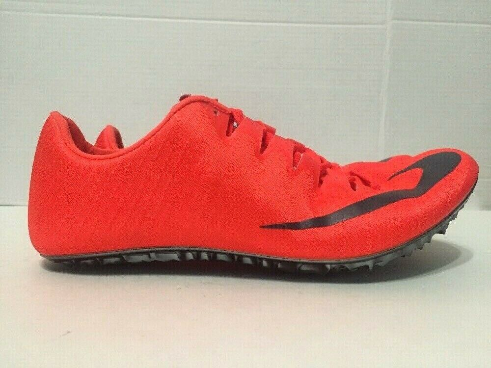 Nike Zoom Superfly Elite Track Field Sprint Spikes Red 835996-614 Size 6