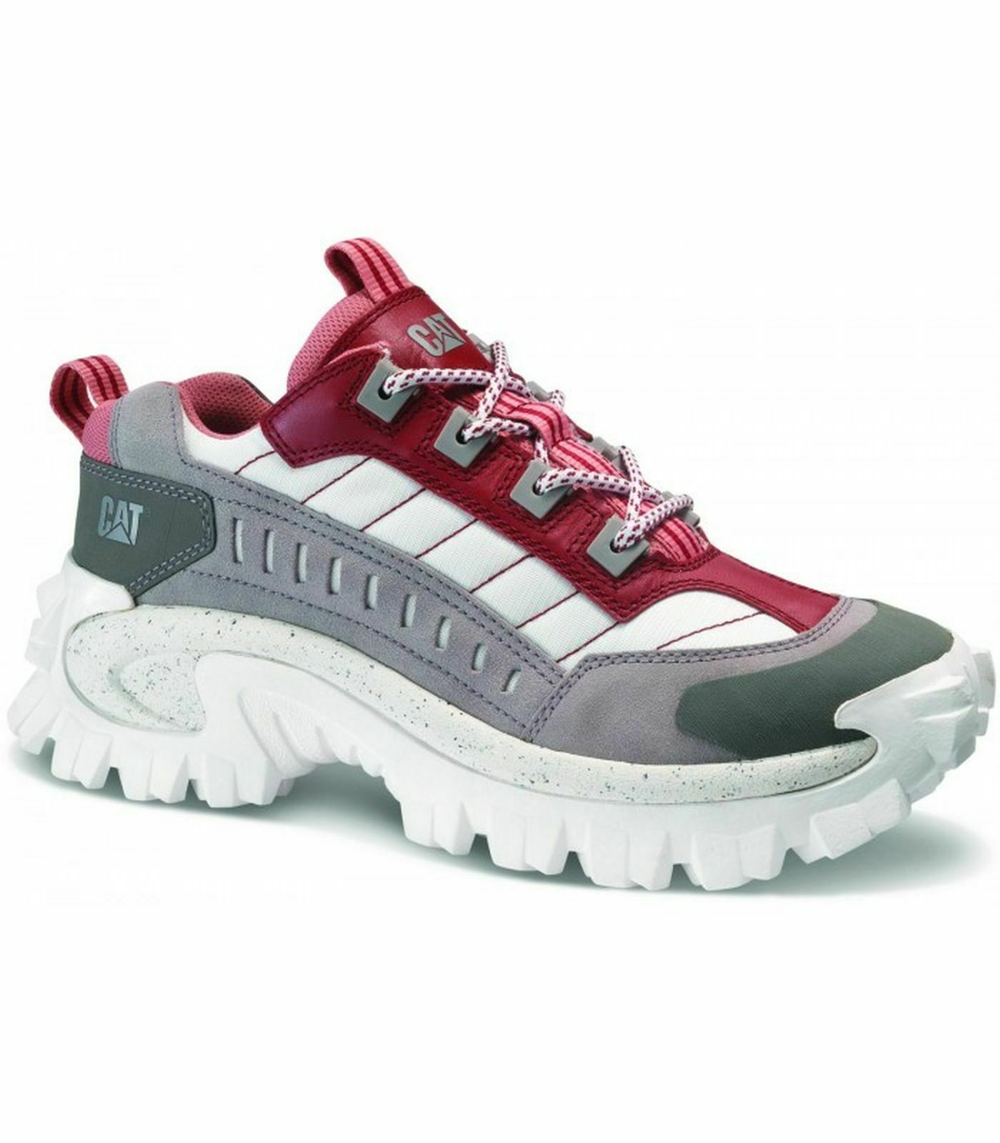 Cat Caterpillar Intruder 2 Womens Rio Red Ash Trainers P7234439 EUR 41 USA 8 UK 7