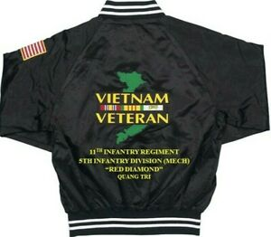 VIETNAM-VETERAN-11TH-INFANTRY-5TH-INFANTRY-DIVISION-MECH-2-SIDED-SATIN-JACKETS