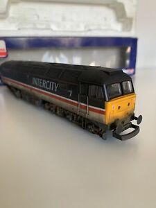 Lima-Class-47-838-Professionally-Weathered-amp-Boxed-Intercity-MOTOR-MISSING