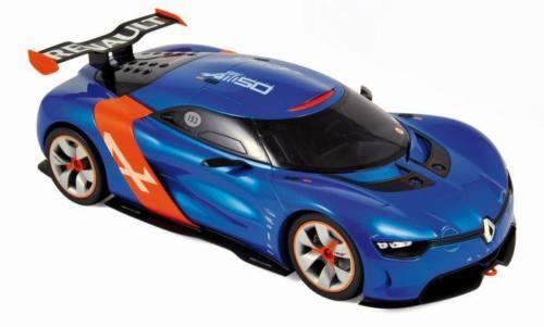 1 18 novedad norev-Renault Alpine a110-50 año de fabricación 2012 en  azul naranja