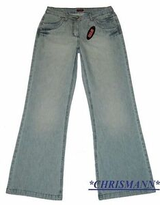 Large Utilisé Taille Son L32 Stretch New Jeans 48 Bleu Denim i H 34 s Pantalon Femme pnqagPX7x