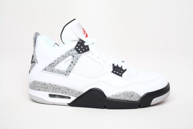 Nike Air Jordan Retro 4 IV White Cement Size 9 OG Men s 89 Style for ... 3883df465