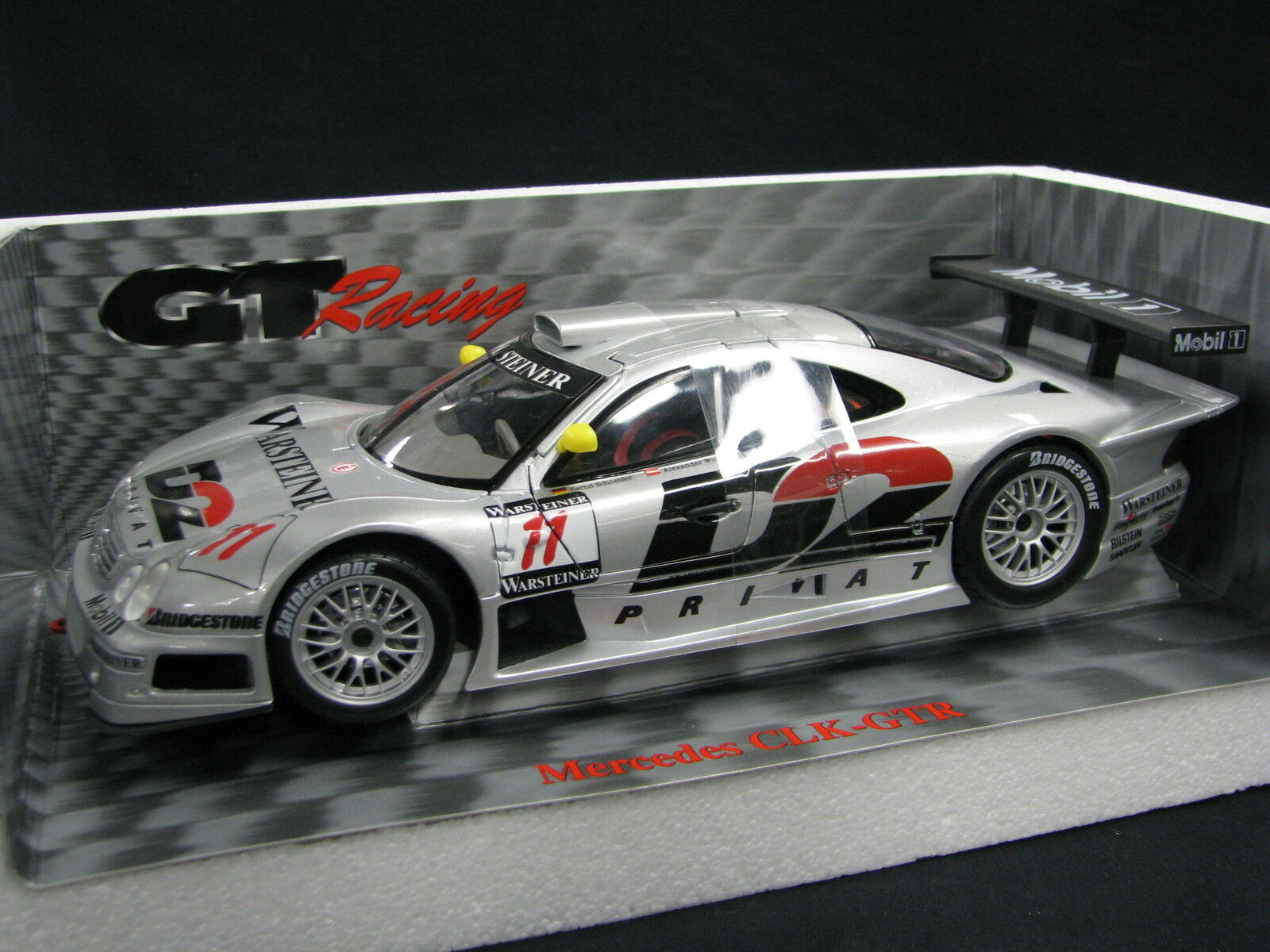 Maisto D2 Mercedes-Benz CLK-GTR 1997 1 18  11 Schneider   Wurz FIA GT (JS)