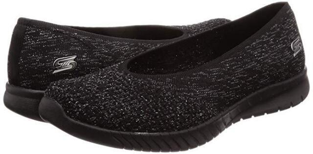 4b961e949edee Women Skechers Wave Lite My Dear Slip On Shoe 23635/BBK Color Black Brand  New