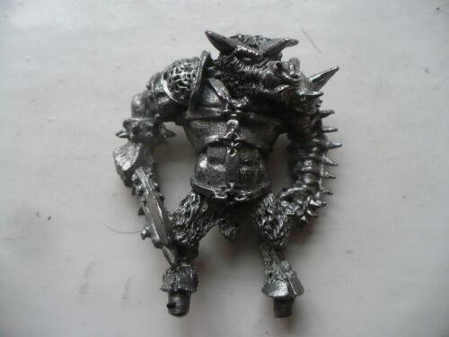 CITADEL WARHAMMER Classic 80 S C25 Minotaur Lord Ox Roar Chaos Champion Épuisé
