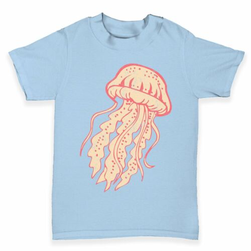 Twisted Envy Jellyfish Baby Toddler Funny T-Shirt