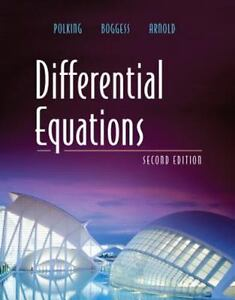 Differential equations by david arnold john polking and al boggess stock photo differential equations by david arnold john polking and al boggess 2005 fandeluxe Gallery