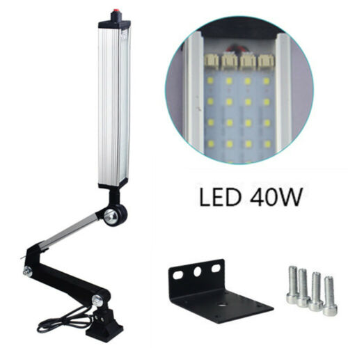 16//24//32//40W CNC Drehmaschine Maschinenlampe Fixed LED Arbeitsleuchte Licht
