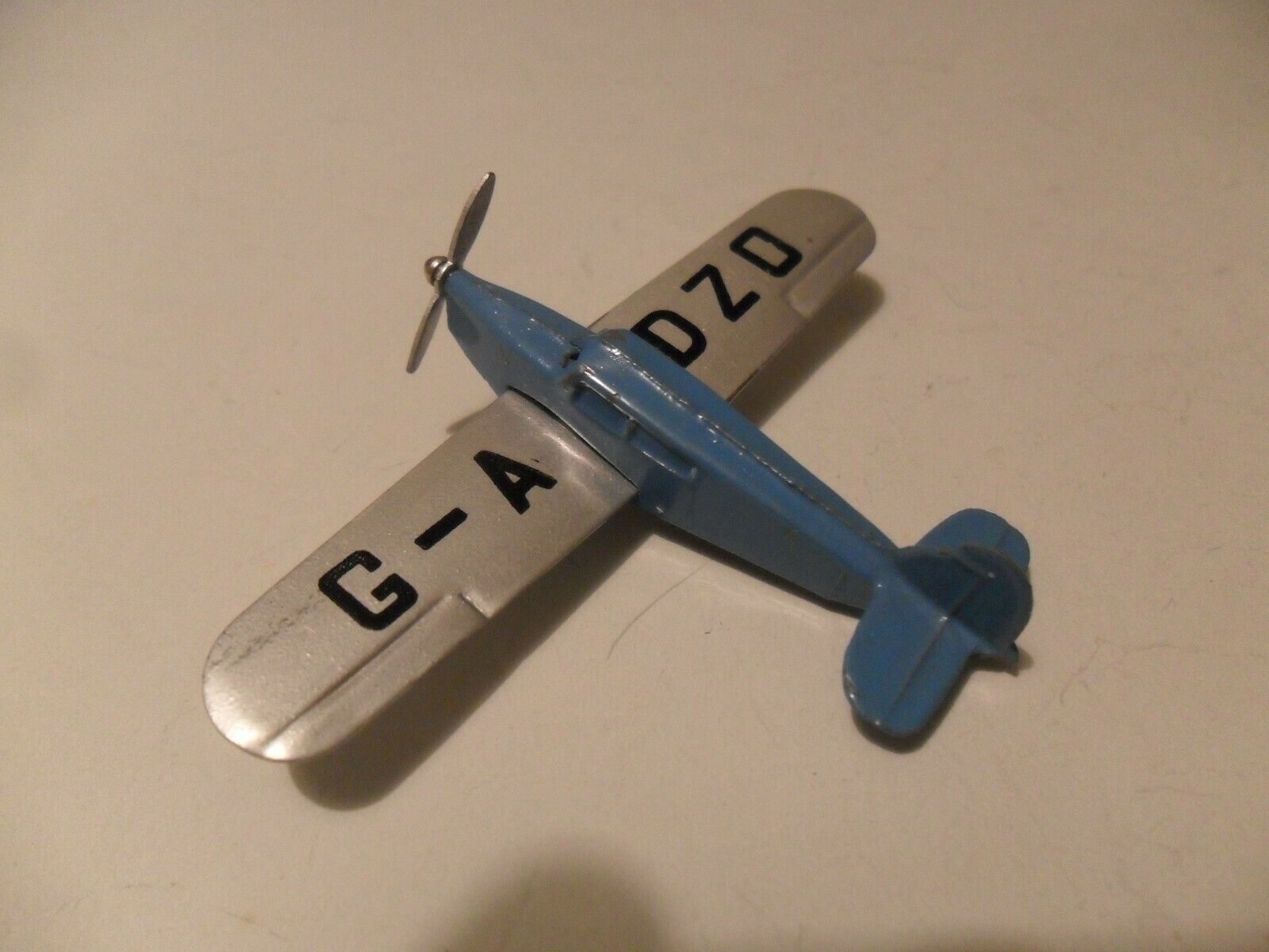 Dinky toys aeroplane  60k Brooks Gull aircraft 1939 40 issue, superb example