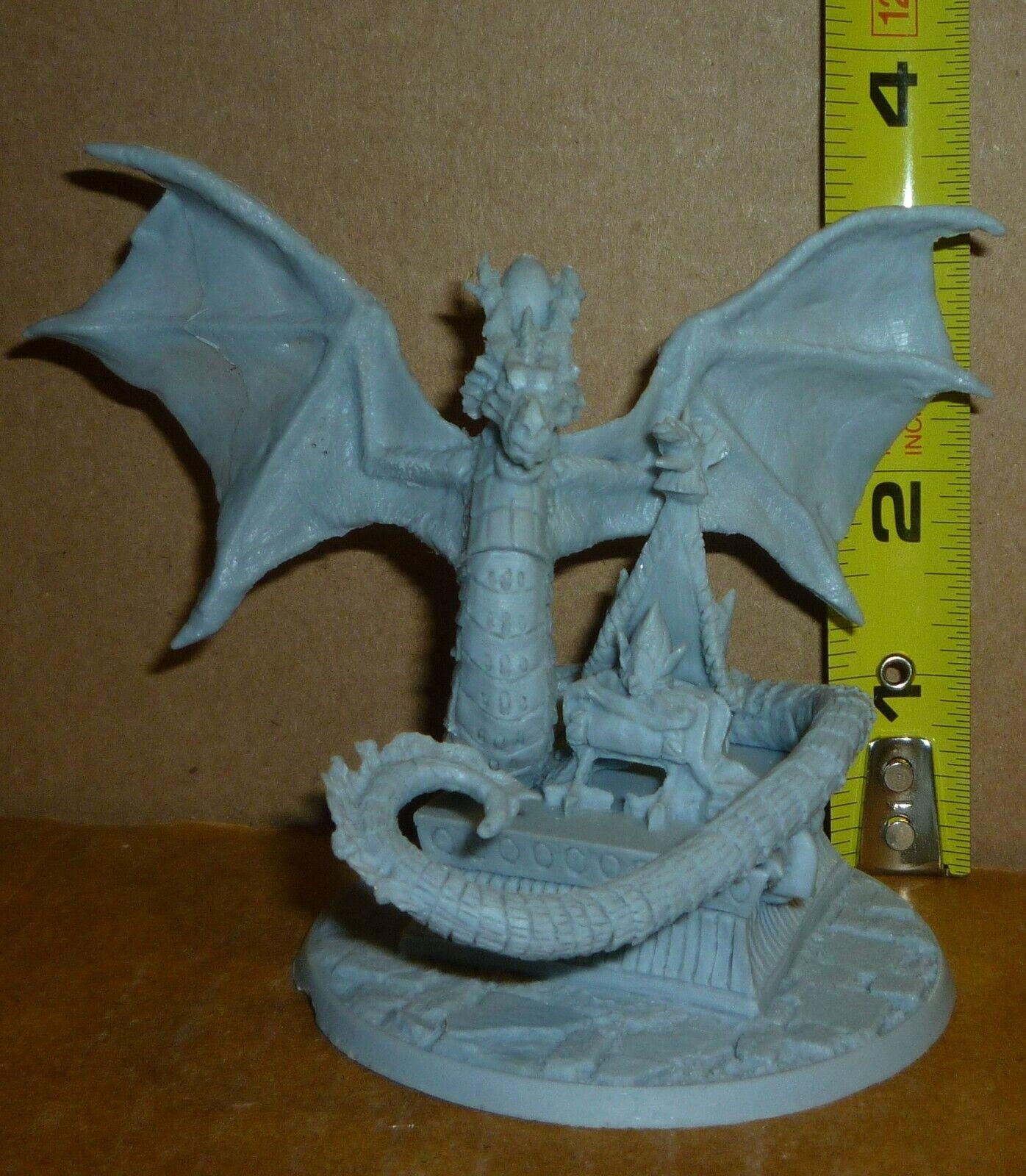 Glorantha  Gods War THE EMPEROR Resin Miniature (Dragon)
