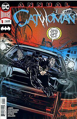 Hart Arbeitend Catwoman Annual #1 - 2019 - Dc Comics - Usa - I964 Bequem Und Einfach Zu Tragen