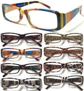 N3-Fancy-Pattern-Wide-Arms-Reading-Glasses-Animal-Skin-Flower-Color-Dot-Stripe