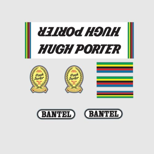 Stickers n.2 Hugh Porter Bicycle Decals Transfers