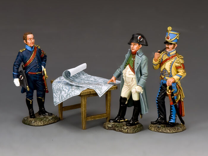 King and Country Napoleon's Imperial Guard The The The Emperor & His Aide de Camps NA375 e94f78