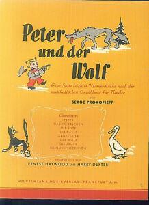 Serge-Prokofieff-Peter-und-der-Wolf-SUITE-LEICHTER-kLAVIERSTUCKE